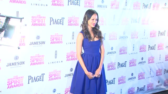 Zoe Saldana at the 2013 Film Independent Spirit Awards Nominations Press Conference Zoe Saldana at the 2013 Film Independent Spirit Aw at W Hollywood...