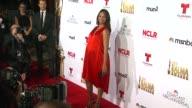 Zoe Saldana at the 2014 NCLR ALMA Awards at Pasadena Civic Auditorium on October 10 2014 in Pasadena California