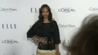 Zoe Saldana at the 2015 ELLE Women in Hollywood Awards at Four Seasons Hotel Los Angeles at Beverly Hills on October 19 2015 in Los Angeles California