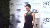 Zoe Saldana at the Audi And Martin Katz Celebrate The 2012 Golden Globe Awards in West Hollywood CA