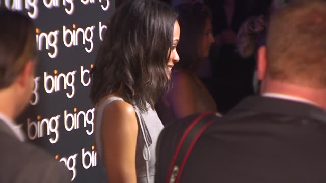 Zoe Saldana at the Bing Hosts Celebration Of Creative Minds at West Hollywood CA