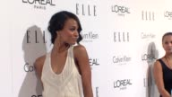 Zoe Saldana at the ELLE's 16th Annual Women In Hollywood Tribute at Beverly Hills CA