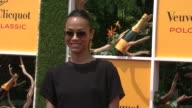 Zoe Saldana at The Fifth Annual Veuve Clicquot Polo Classic on 6/02/2012 in New York NY United States