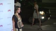 Zoe Saldana at the LACMA Hosts Inaugural Art Film Gala Honoring Clint Eastwood And John Baldessari Presented By GUCCI at Los Angeles CA