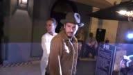 Zoe Saldana Marco Perego leave Craig's Restaurant in West Hollywood in Celebrity Sightings in Los Angeles