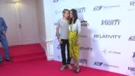Zoe Saldana Marco Peregoat Relativity Media 10th Anniversary Lunch at Hotel du CapEdenRoc on May 18 2014 in Cap d'Antibes France