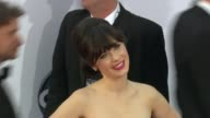 Zooey Deschanel at 64th Primetime Emmy Awards Arrivals on 9/23/12 in Los Angeles CA