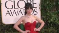Zooey Deschanel at 70th Annual Golden Globe Awards Arrivals 1/13/2013 in Beverly Hills CA