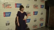 Zooey Deschanel at Hollywood Stands Up To Cancer on in Los Angeles California