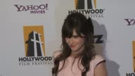 Zooey Deschanel at the 13th Annual Hollywood Awards Gala at Beverly Hills CA