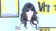 Zooey Deschanel at the Critics' Choice Television Awards Luncheon at Beverly Hills CA