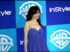 Zooey Deschanel at the InStyle/Warner Brothers Golden Globes Party at the Beverly Hilton in Beverly Hills California on January 16 2006
