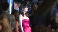 Zooey Deschanel at the 'The Happening' New York Premiere at New York NY
