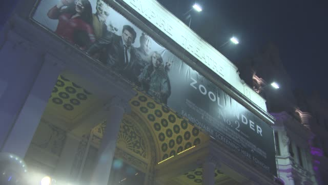 ATMOSPHERE 'Zoolander 2' UK special screening at Empire Leicester Square on February 4 2016 in London England