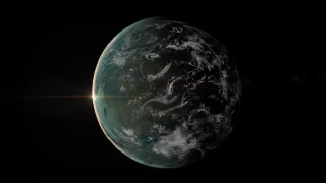 zoom der Erde
