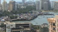 Zoom in on slums Mumbai, India; Mumbai, India