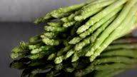 Zoom out from Asparagus (Asparagus officinalis) Spring Vegetables