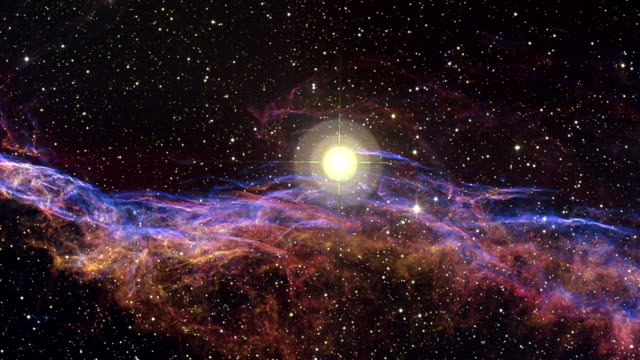 Zooming out from the Witchs Broom Nebula