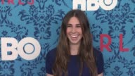 Zosia Mamet at New York Premiere of HBO's 'Girls' at School of Visual Arts Theater on April 04 2012 in New York New York