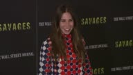 Zosia Mamet at 'Savages' New York Premiere at SVA Theater on June 27 2012 in New York New York