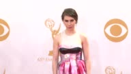 Zosia Mamet at the 65th Annual Primetime Emmy Awards Arrivals in Los Angeles CA on 9/22/13