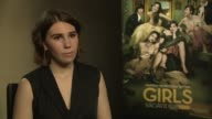 Zosia Mamet talks about the rise of female comedians in Hollywood at 'Girls' Interviews at on January 16 2014 in London England