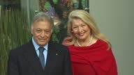 Zubin Mehta and Nancy Mehta at the Zubin Mehta Honored With A Star On The Hollywood Walk Of Fame at Hollywood CA