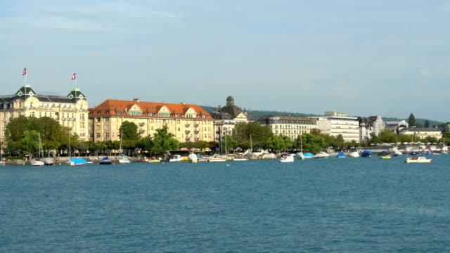 Zurich Skyline with Lake Zurich