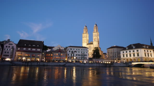 Zurich Switzerland Grossmünster