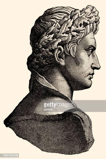 julius caesar - emperor stock illustrations, clip art, cartoons, & icons