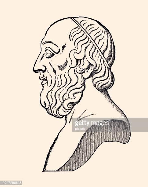 plato (xxxl) - philosopher stock illustrations