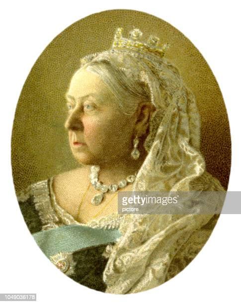 queen victoria xxxl - empress stock illustrations, clip art, cartoons, & icons