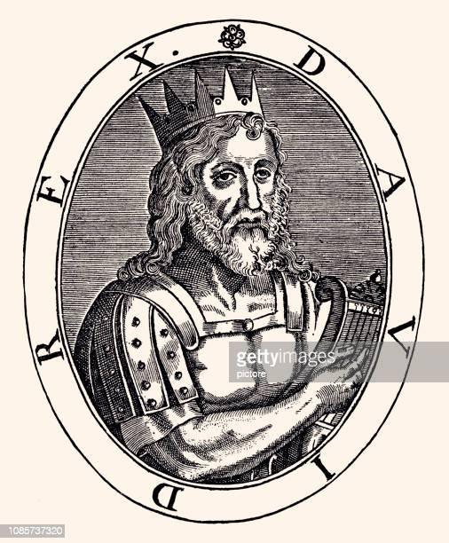 david,king of israel (xxxl) - hebrew script stock illustrations, clip art, cartoons, & icons