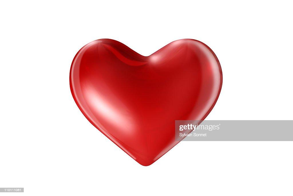 RED HEART : Stock Illustration