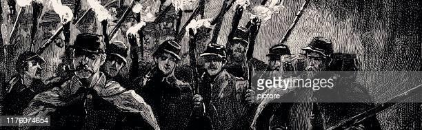 sherman's army  (xxxl) - uniform cap stock illustrations