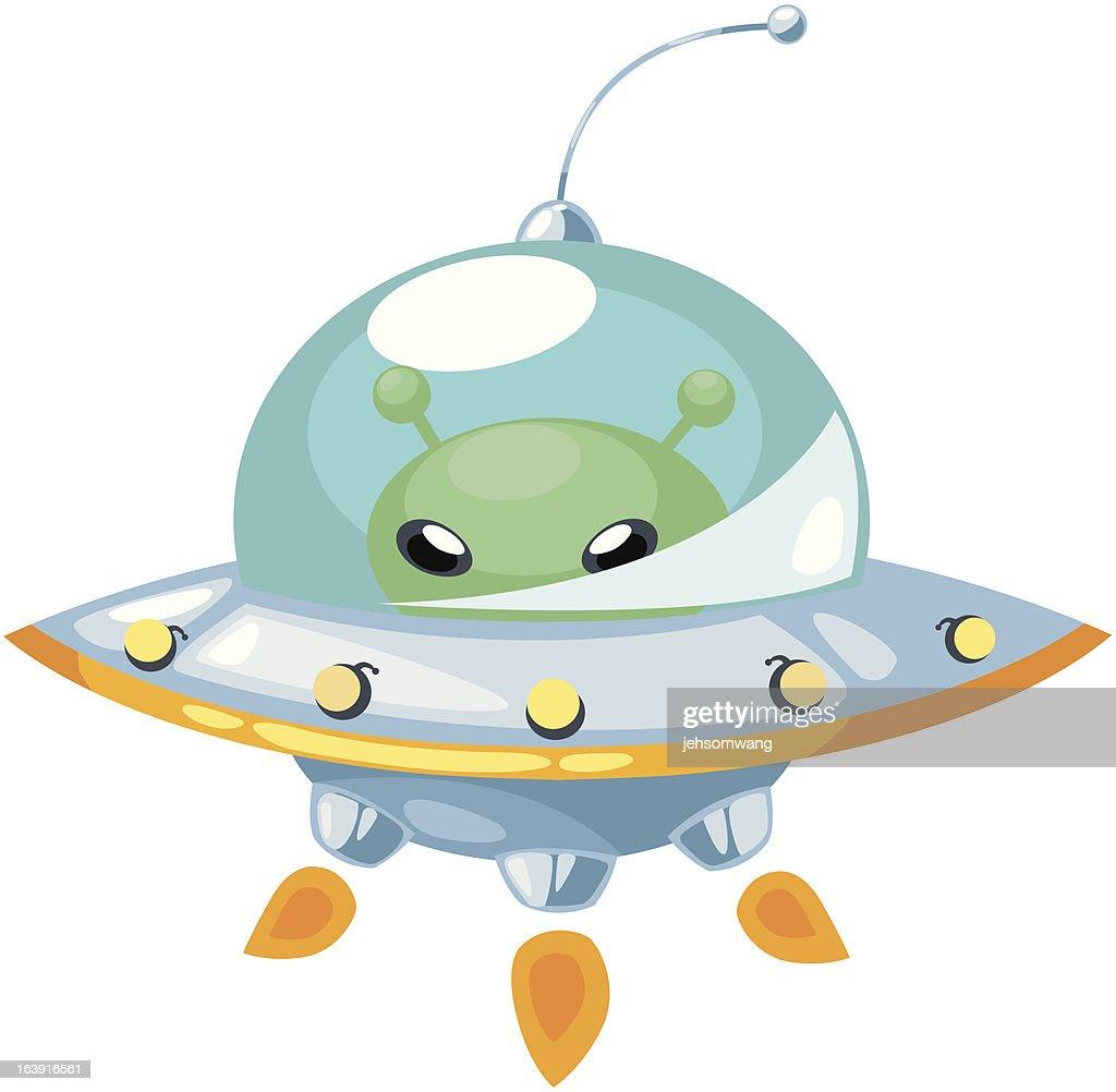 ALPHABET LETTER U-UFO