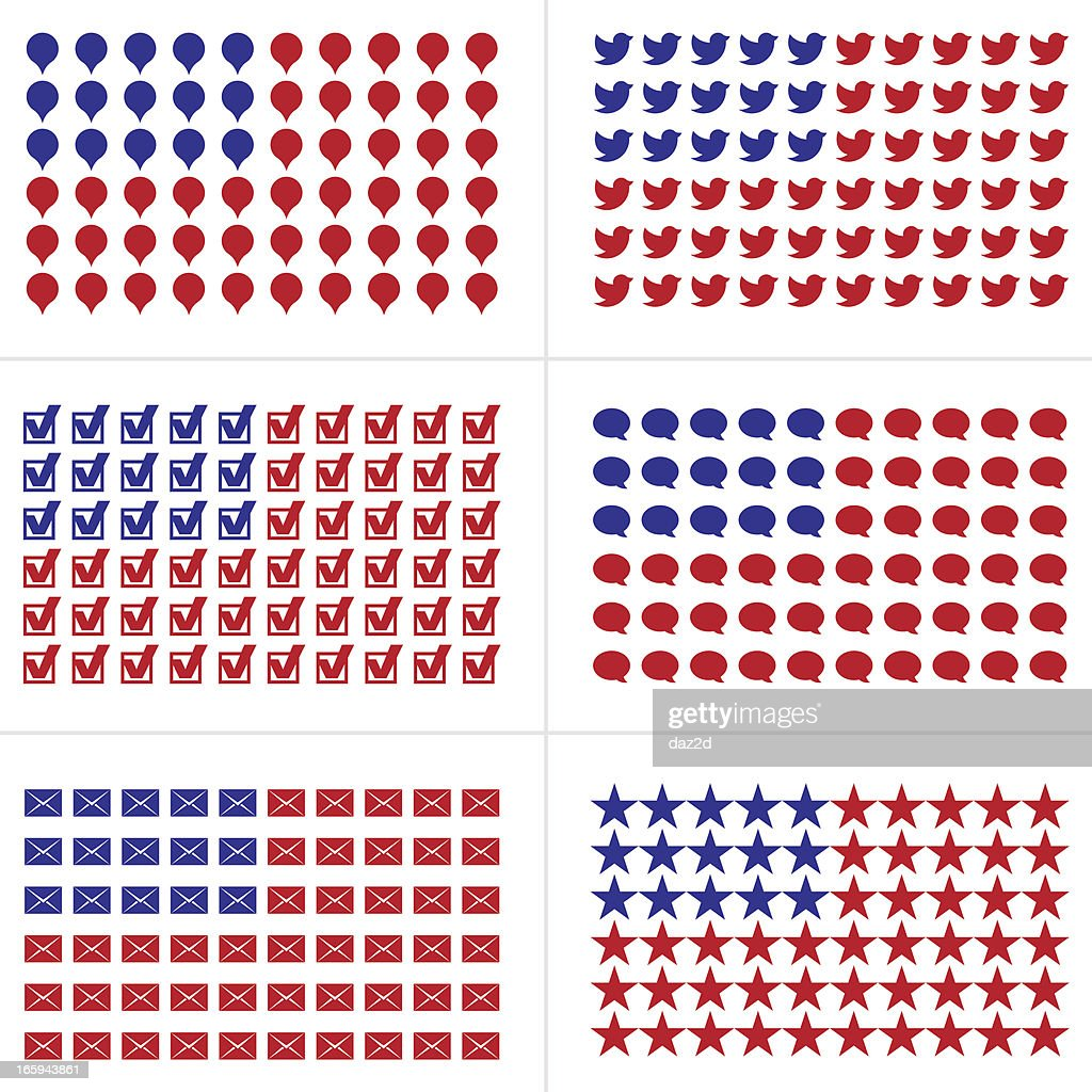 U.S. FLAG OF THE SYMBOLS