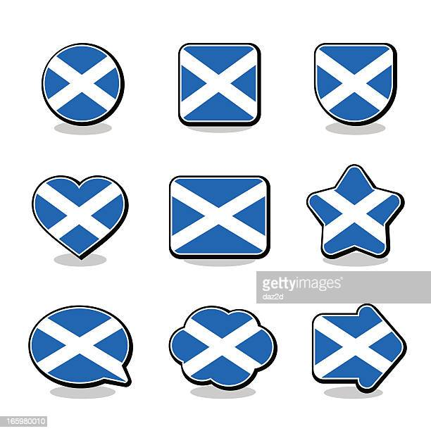 SCOTLAND FLAG ICON SET