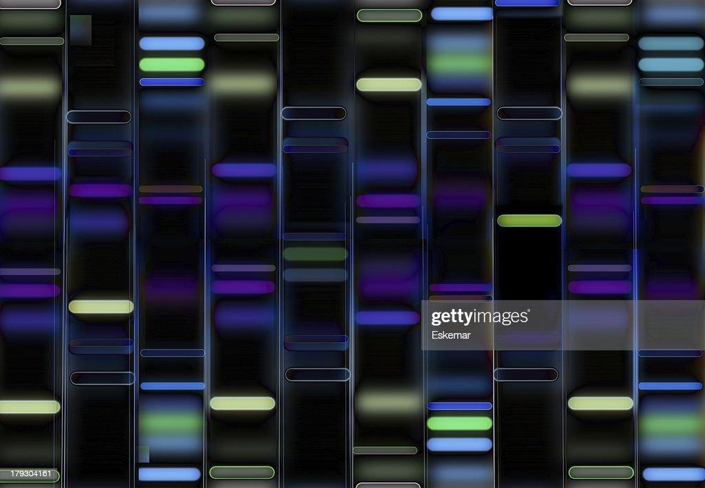DNA : stock illustration