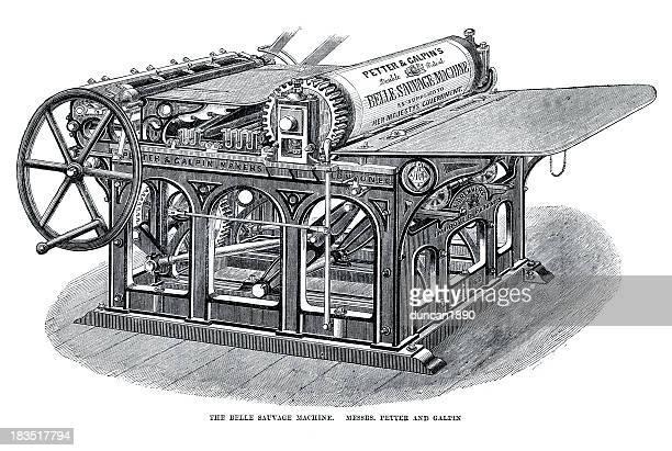 BELLE SAUVAGE PRINTING MACHINE