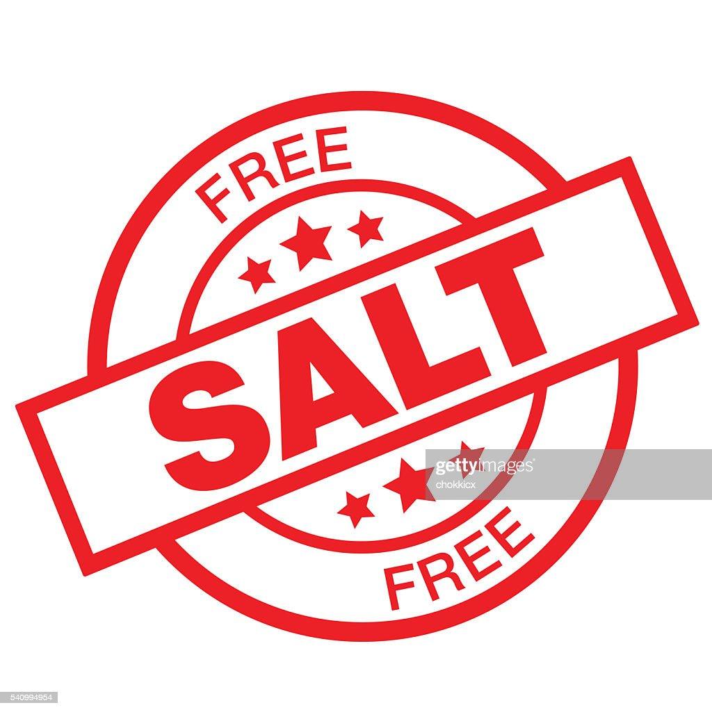 FREE SALT : stock illustration