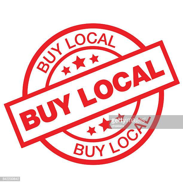buy local - buy single word stock illustrations, clip art, cartoons, & icons