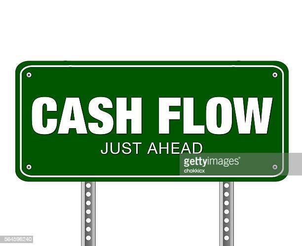 cash flow just ahead - cash flow stock illustrations, clip art, cartoons, & icons