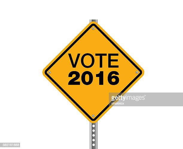 vote 2016 - politics and government stock illustrations, clip art, cartoons, & icons
