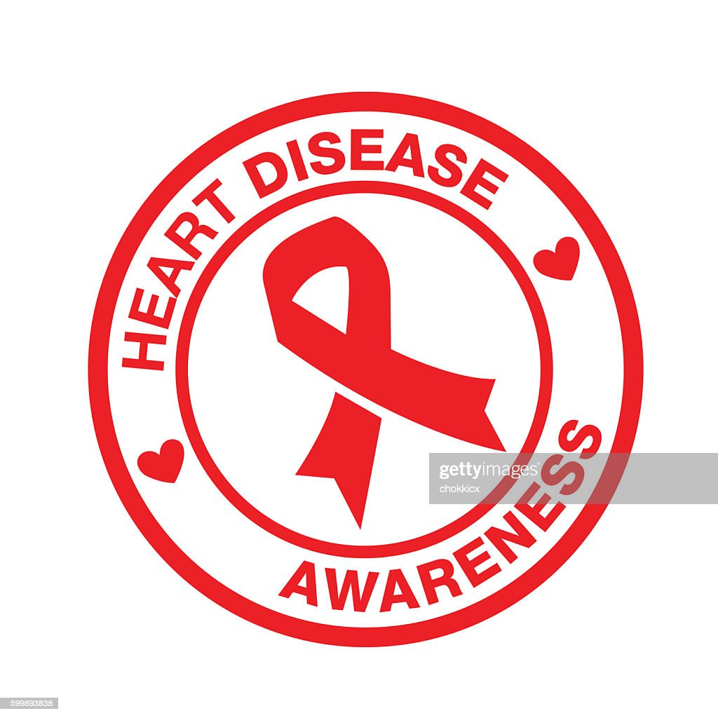Heart Disease Awareness Stock Illustration Getty Images