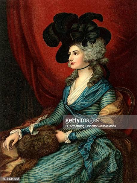1785 PORTRAIT OF SARAH.