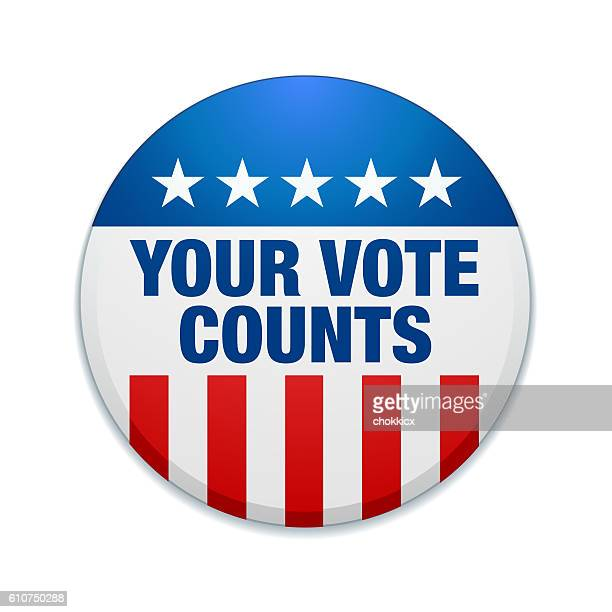 your vote counts - counting stock illustrations