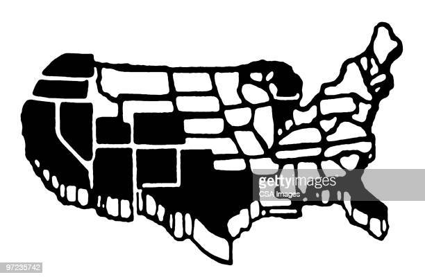 usa - american culture stock illustrations