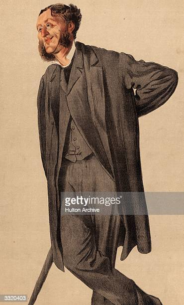 English poet and critic Matthew Arnold . Vanity Fair - No 158 - Men of the Day - No 36 - I say, the critic must keep out of the region of immediate...