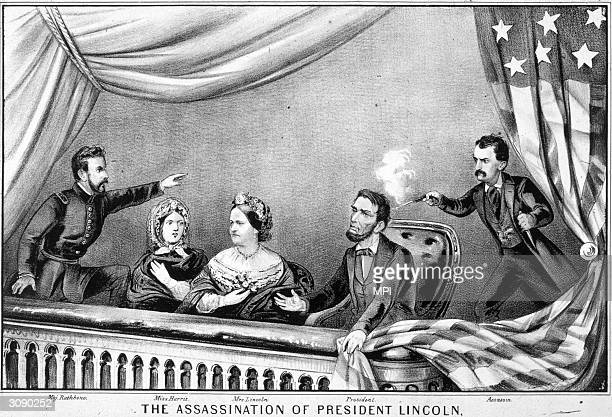 The assassination of Abraham Lincoln by John Wilkes Booth at Ford's Theatre Washington DC Abraham Lincoln was the 16th President of the United States...